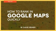 How To Rank In Google Maps Quickly   Local SEO 2018